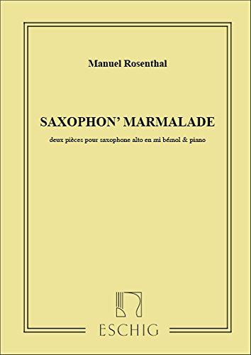Saxophon'Marmalade Saxophone Eb-Piano