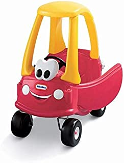 Little Tikes Cozy Coupe 30th Anniversary Edition Ride On Toy [Red and Yellow, 612060]