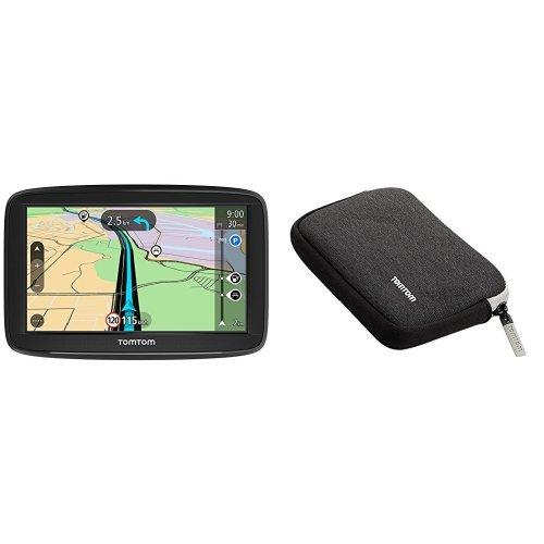 TomTom Start 52 EU45 LTM - GPS para coche + TomTom Funda universal