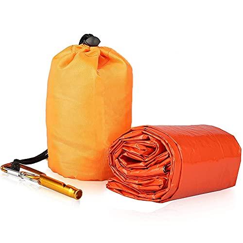 Saco de Emergencia Dormir, Manta de Supervivencia, Premium S