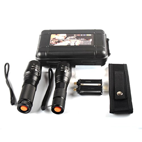 Tefamore 2pc Linterna Sombra Halcón Tactical X800