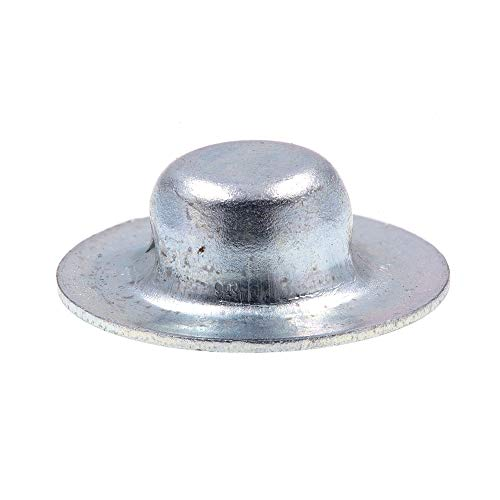 Prime-Line 9078486 Axle Hat Push Nuts, 1/4 in., Zinc Plated Steel, 20-Pack