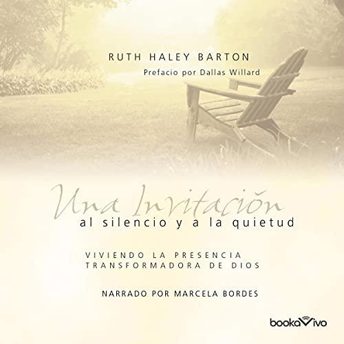 Diseño de la portada del título Una invitación al silencio y a la quietud
