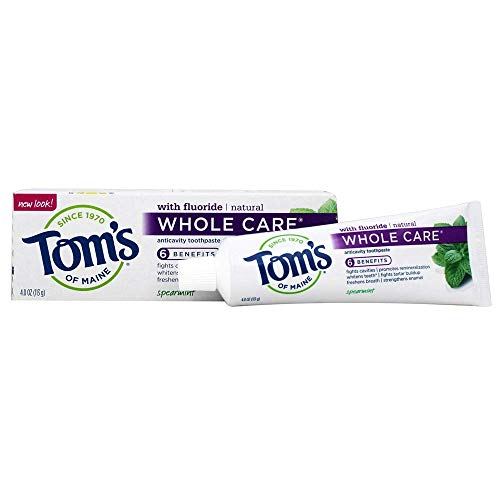 TOMS OF MAINE Spearmint Whole Care Toothpaste, 4 OZ