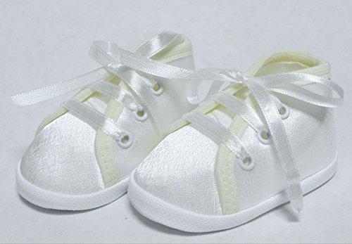 Taufschuhe Taufe Babyschuhe Sandalen Creme Gr.10-13 OM-306 (12cm)