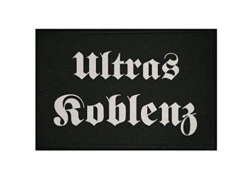 U24 Aufnäher Ultras Koblenz Fahne Flagge Aufbügler Patch 9 x 6 cm