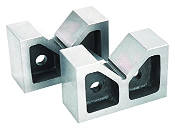 Groz V-Block  Pair    Cast Iron   5-inch Length   90° Vee   #03102