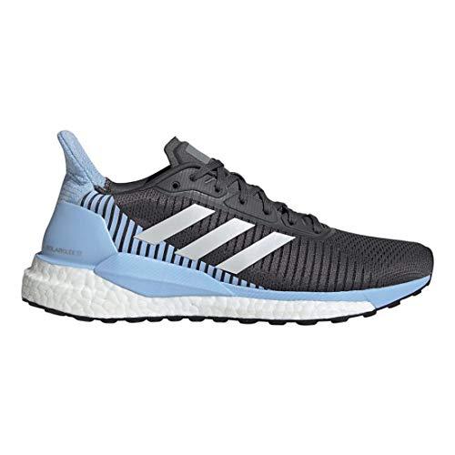 Zapatillas Adidas Solar Glide St 19 W para mujer, Gris (Gris/Azul), 38.5 EU