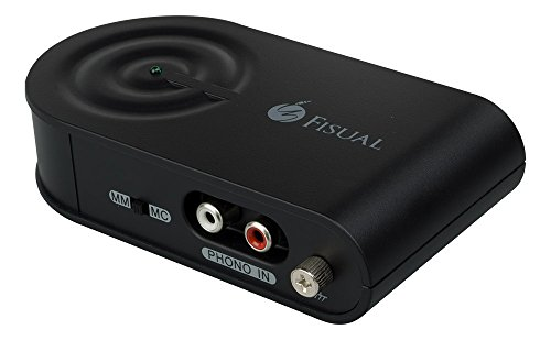 Fisual UPA-1000 USB Phono Stage Pre Amplifier Black