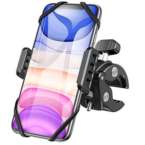 Handyhalterung Fahrrad, 360° Drehbarer Universal Motorrad Handyhalter - für iPhone X/8/7/6, Samsung und Handy mit 4,3-6,5 Zoll
