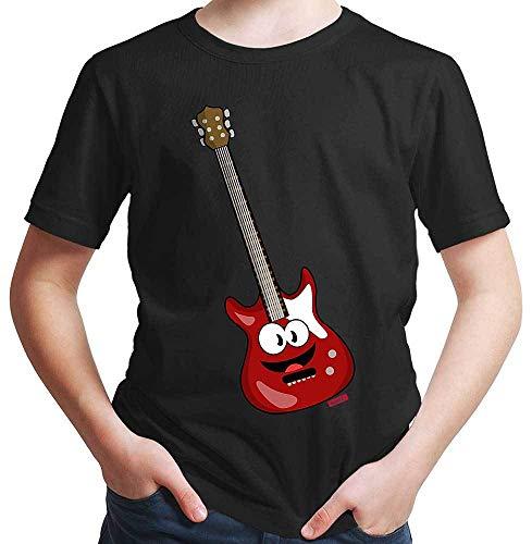 Hariz – Camiseta para niño, guitarra eléctrica, instrumento, divertido, incluye tarjetas de...