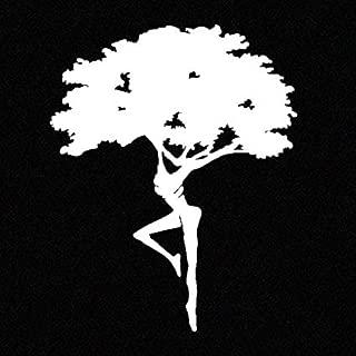CCI Fire Dancer Dreaming Tree Dave Matthews Band Decal Vinyl Sticker|Cars Trucks Vans Walls Laptop|White|5.5 x 4.5 in|CCI2074