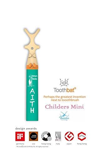 toothbat Kinder Zahnseide-halter für die perfekte Mund-reinigung und Zahn-reinigung, Interdental-reinigung, professionelle Mund-hygiene (grün)