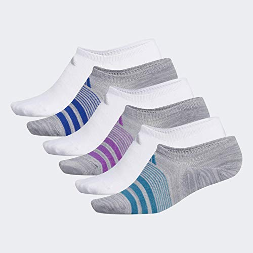 6-Pair adidas Women's Superlite Super No Show Socks $9.50 w/ S&S + Free Shipping w/ Prime or on $25+