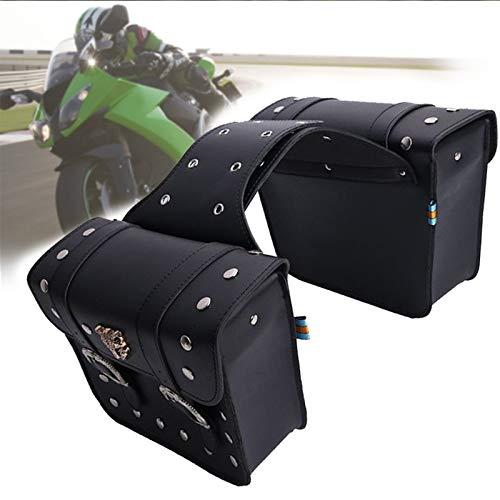 Motocicleta Bolsas Saddlebag Bolsas de Equipaje de Viaje Knight Rider for recorrer for Triumph Bonneville for Honda Sombra Motocicleta