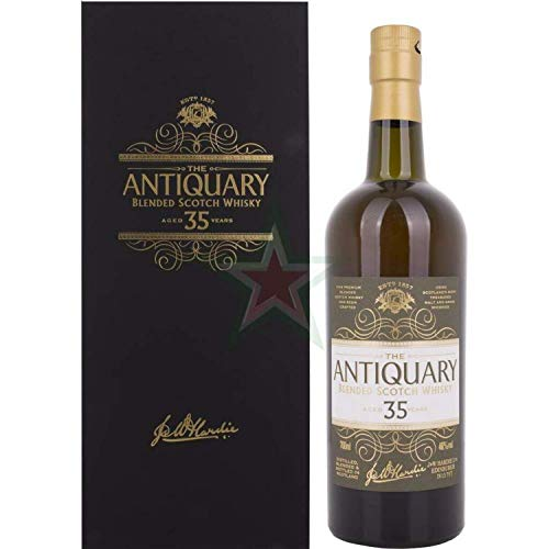 The Antiquary 35 Years Old Blended Scotch Whisky 46,00% 0,70 Liter