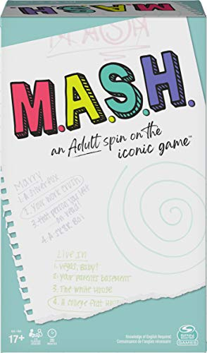 MASH, Fortune Telling Adult Party Game, for Ages 17 and up