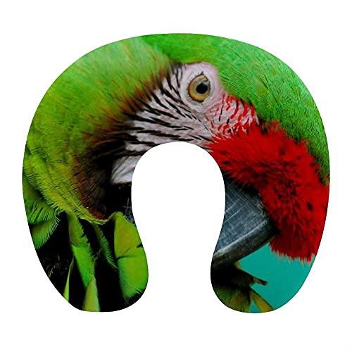 Almohada Cervical Viaje, U Shape Cojin Cuello Viscoelastica, Almohada Antironquidos, Almohada Ortopédic, para el Aeroplano, el hogar, el Oficina (Animal)