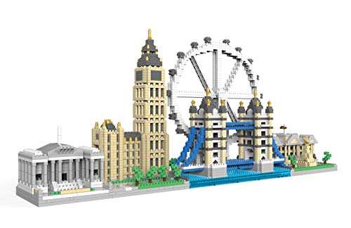 dOvOb Architecture London Skyline Collection Micro Mini Blocks Set Model Kit and Gift for Kids and...