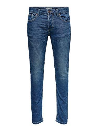 Only & Sons Onsloom Jog PK 8472 Noos Vaqueros Slim, Azul (Blue Denim), W30/L30 (Talla del Fabricante: 30) para Hombre