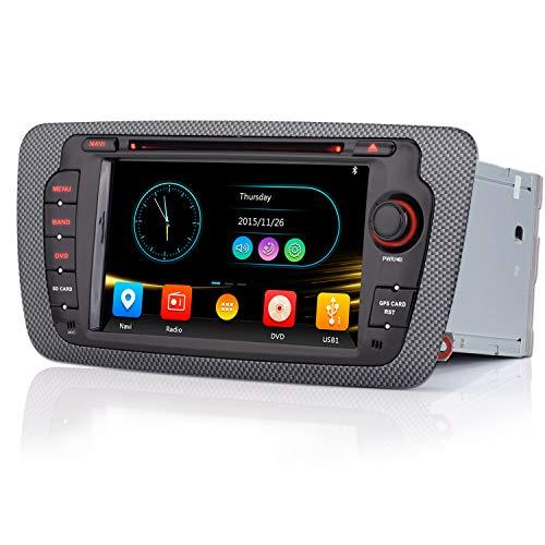 iFreGo 7 pollici 2 Din Autoradio touchscreen Per Auris 2007-2013, navigazione GPS, lettore CD DVD, autoradio supporta il controllo del volante Bluetooth, Windows CE 6.0, USB con CD MP3