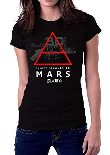 OVer 30 Thirty Seconds To Mars Symbol 30stm Logo Women T-Shirt