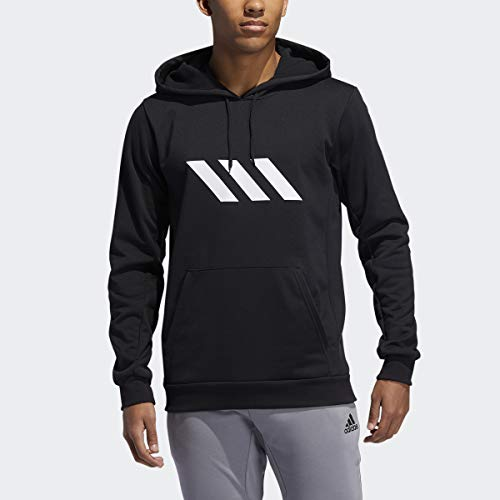 adidas Men's SPT Basketball Sweatshirt, Black, X-Large