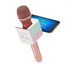 Tzumi PopSolo Glow Karaoke Microphones make great guests at any party - and are designed to make you the star of any scene. The PopSolo Microphone is compatible with any Bluetooth-enabled device (version 4.1), including all iOS and Android smartphone...