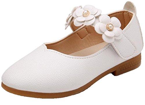 WUIWUIYU Filles Ballerines Chaussures de Princesse...