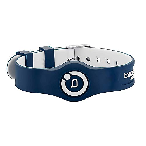 Bioflow Sport Flex Adjustable Magnetic Therapy Wristband - Navy/White