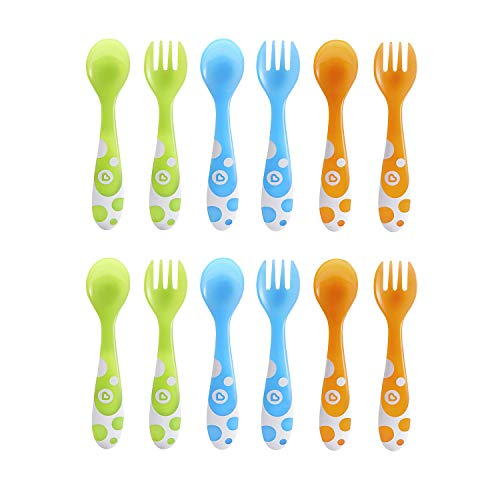 6 Piece Fork and Spoon Set (2 Pack)