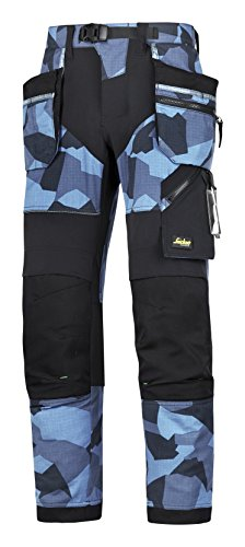 Snickers Workwear 6903 FlexiWork Arbeitshose+ Bundhose Hose Stretch (44)