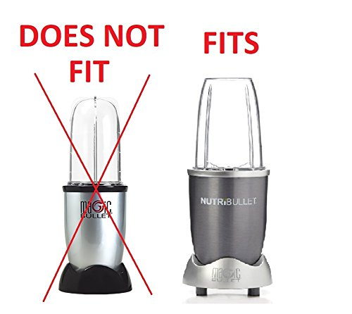 Blendin Replacement Parts, Compatible with Nutribullet 600W and 900W Blender Juicer (3 Rubber Bushings) |