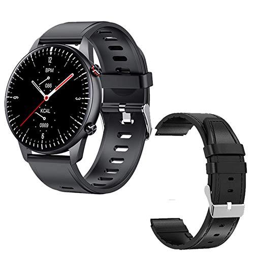 CNZZY Nuevo I15 Smart Watch Reproductor de música MP3 Memoria 1G con monitor de frecuencia cardíaca Presión arterial IP67 Impermeable Fitness Tracker Smartwatch (O)