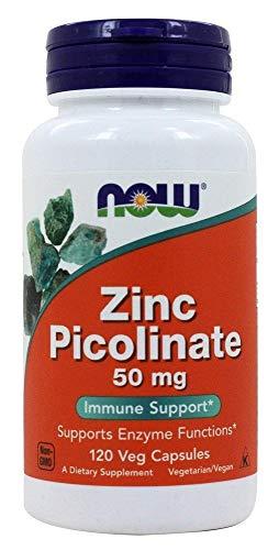 NOW Foods - 亜鉛Picolinate 50 mg。120カプセル【海外直送品】