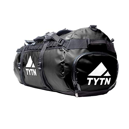 TYTN Duffel Bag 90L for Expeditions, Travel & Sport (Black)