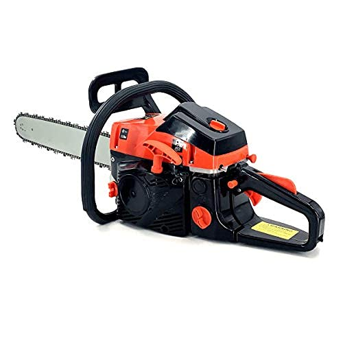 Lfhelper Gas Chainsaw 52cc 2-Stroke Gas Powered Chainsaw Handheld Cordless ChainSaw for Cutting Wood Outdoor Home Farm Use