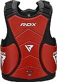 RDX Chest Guard Boxing Body Protector MMA Martial Arts Maya Hide Rib Shield Armour Taekwondo Fighting Training Sparring