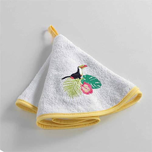 JULOE Asciugamani da Bagno Asciugatura Rapida Assorbente Asciugamani da Mani Bandiera del Brasile 27.5 X 17.5 in