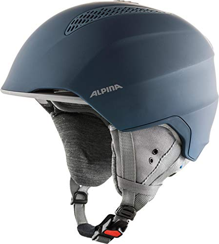 ALPINA GRAND LAVALAN Skihelm, Unisex – Erwachsene, ink-grey matt, 57-61