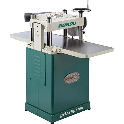 "Grizzly Industrial G0890-15"" 3 HP Fixed-Table Planer"