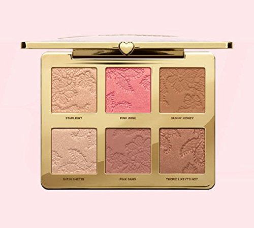 Too faced - Exclusiva paleta de colorete iluminador y bronceador, estilo natural, a la moda