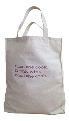 Sturdy Canvas Tote Bag, Reusable Grocery Bag