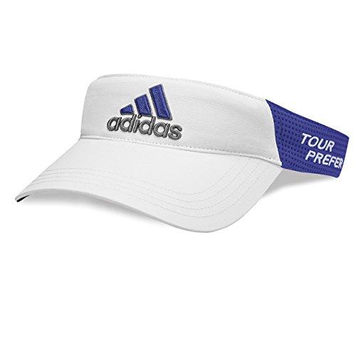 Adidas Tour Visors, White/Night Flash, OSFA