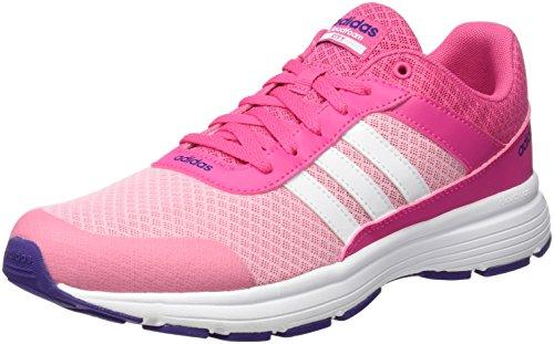 adidas Cloudfoam VS City K, Zapatillas de Deporte para Niños, Rosa (Rosa/Ftwbla/Puruni), 38 EU