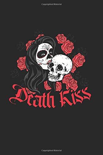 Death Kiss: Blanko A5 Notizbuch oder Heft für Schüler, Studenten und Erwachsene (Logos und Designs, Band 2643)