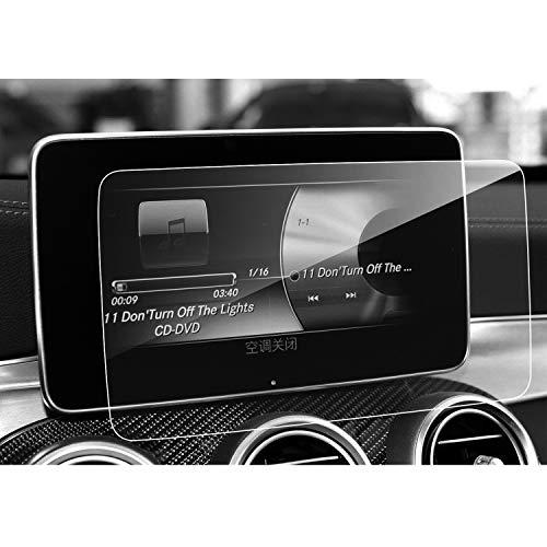 LFOTPP Mercedes-Benz Clase C V CLS GLC AMG 8,4 Pulgadas Navegación Protector de Pantalla 9H Cristal Vidrio Templado GPS Navi película protegida Glass