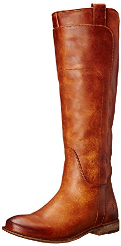 FRYE Women's Paige Tall-APU Riding Boot, Cognac, 7.5 M US