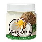 Valle del Sole - Coconut Oil -Aceite de Coco - Producto de Tailandia - 450 Ml