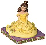Enesco Disney Traditions by Jim Shore Beauty and The Beast Belle Personality Pose Figurine, 3.5', Multicolor
